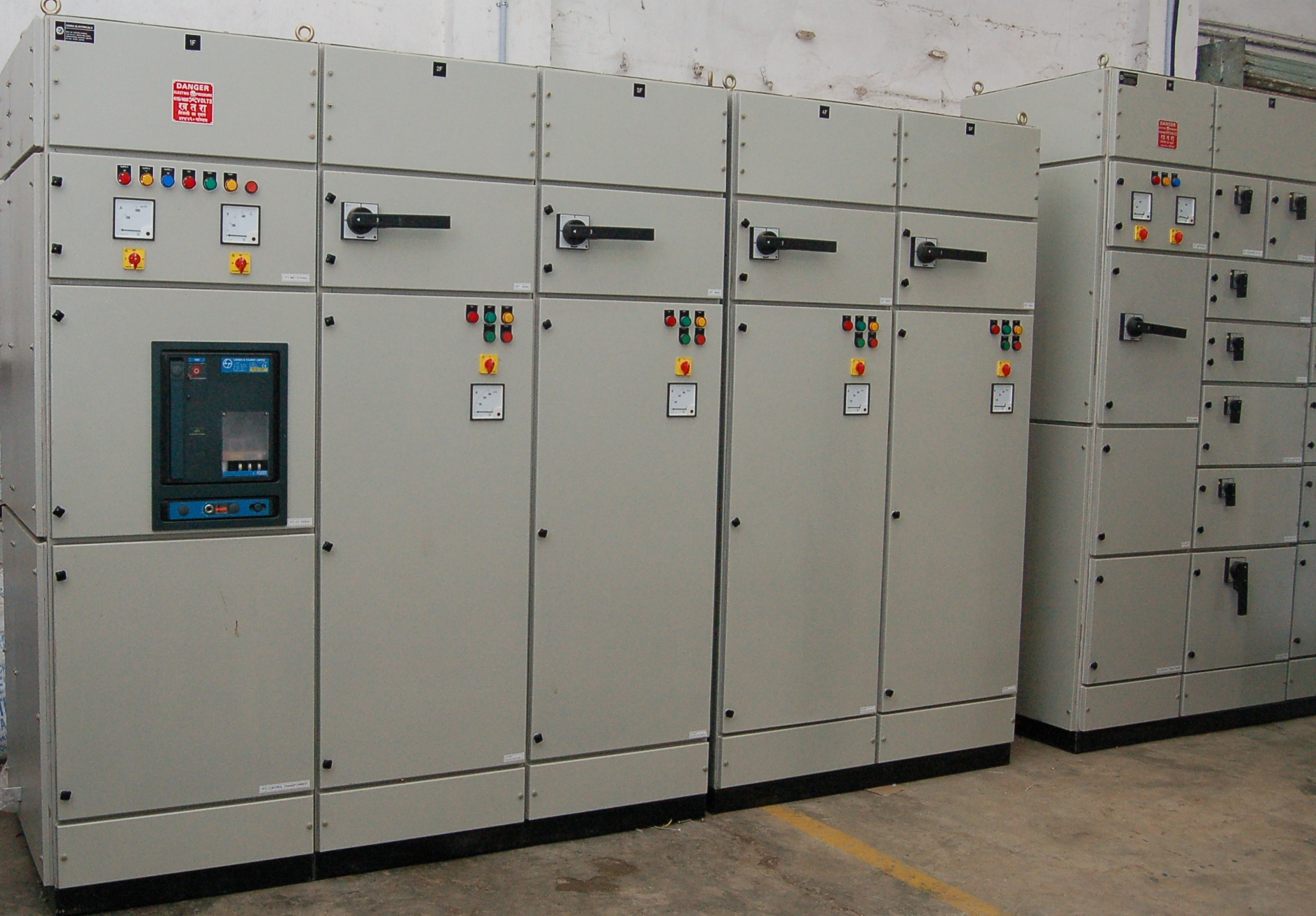 Automatic Electrical Control Panel Manufacturers Vfd